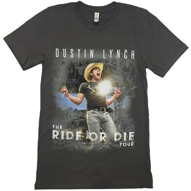 Dustin Lynch Asphalt 2017 Ride or Die Tour Tee
