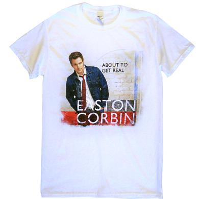 Easton Corbin About To Get Real White Album Tee