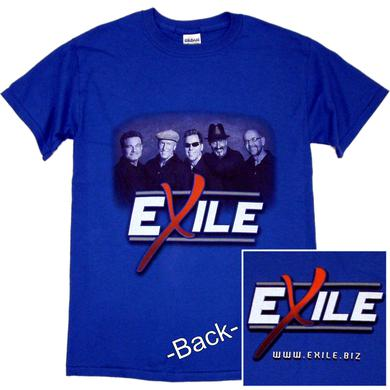 Exile Royal Blue Photo Tee