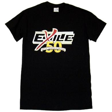 Exile 50th Anniversary Black Tee