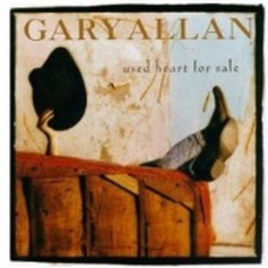Gary Allan CD - Used Heart For Sale