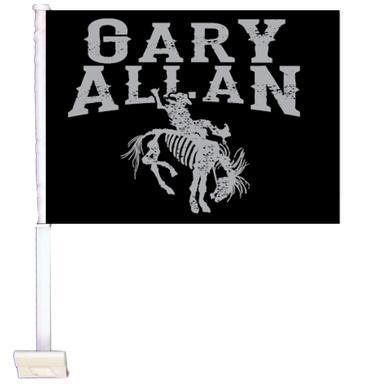 Gary Allan Car Flag