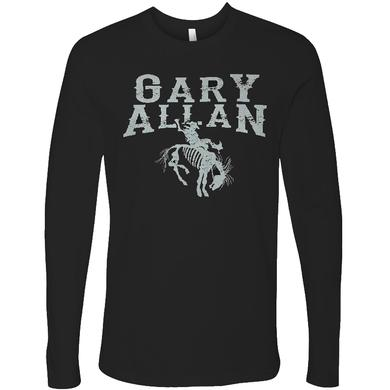 Gary Allan Long Sleeve Black Logo Tee