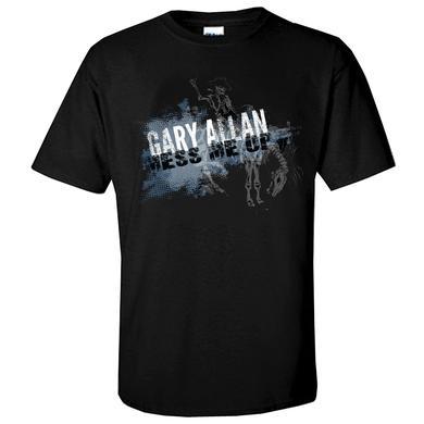 Gary Allan Black Mess Me Up Tee