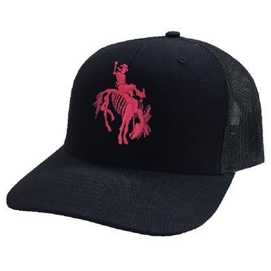 Gary Allan Black Ballcap w/ Neon Pink Logo