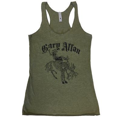 Gary Allan Ladies Military Green Tank- Song Titles