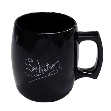 Gene Watson Black Acrylic Coffee Mug