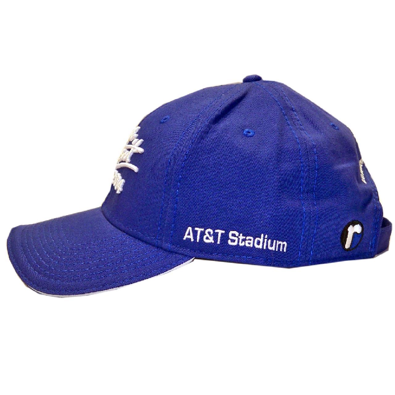 George Strait. 2014 Royal Blue Final Show Ballcap 893a8b7db4b