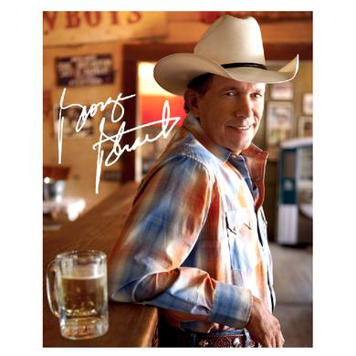 George Strait 8x10- Plaid Shirt