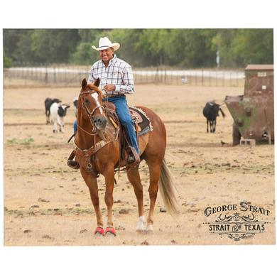 George Strait 8x10- On Horse