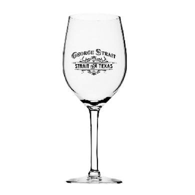 George Strait Wine Glass