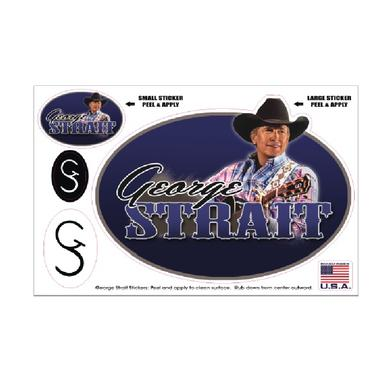 George Strait Decal Sheet