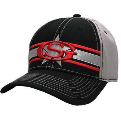 George Strait Black and Grey Ballcap