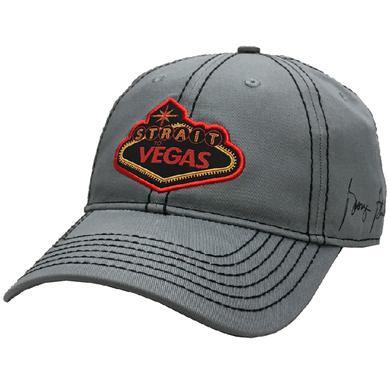 George Strait Grey Vegas Ballcap