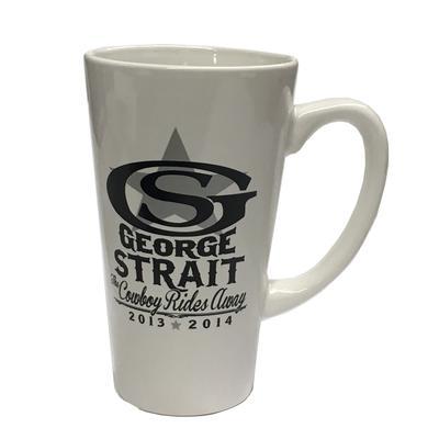 George Strait Cowboy Rides Away Latte Mug