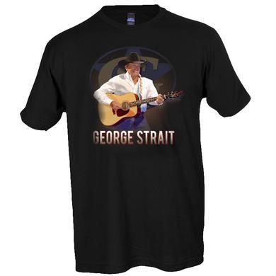 George Strait Black Live in Concert Tee