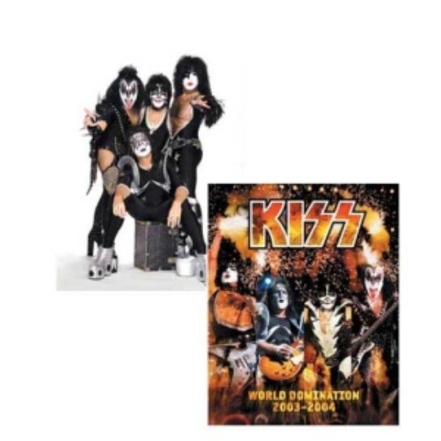 Kiss REVAMPED Fall 2003/2004 World Domination Tour Program