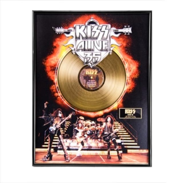 Collectors Edition KISS Alive 35 Gold LP (Vinyl)