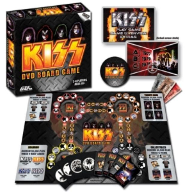 KISS DVD Board Game