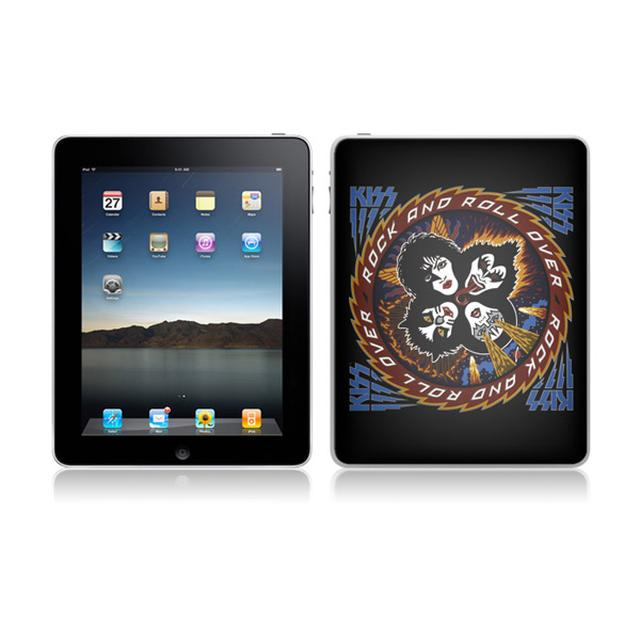 KISS Rock N Roll Over iPad Skin
