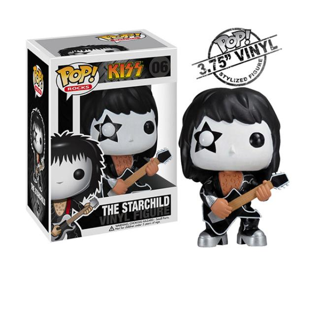 New - The Starchild KISS Vinyl Figure By FUNKO Toys