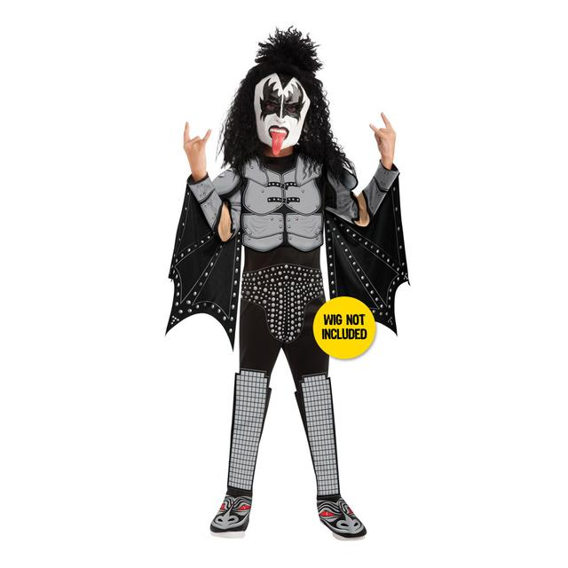 Childrens Demon KISS Costume