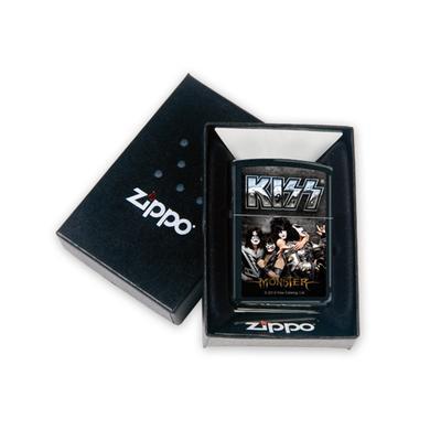 Black Matte KISS Monster Zippo