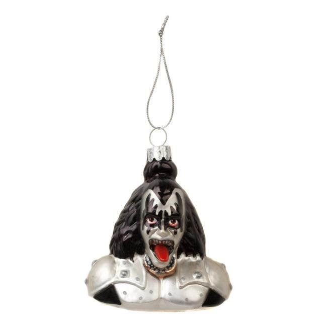 Kiss Glass Demon Bust Ornament