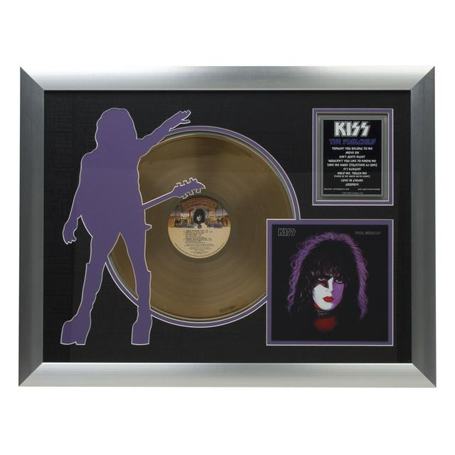 Kiss Solo Starchild Collectible Framed Gold LP (Vinyl)