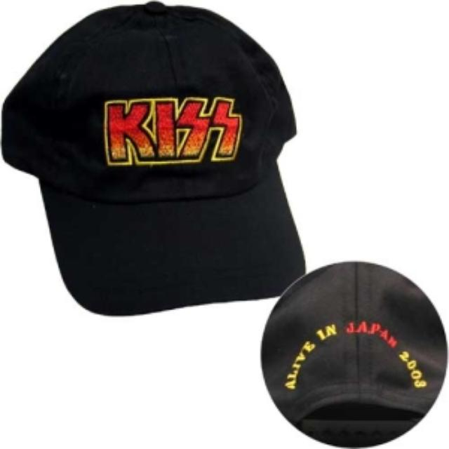 Kiss Alive In Japan 2003 Embroidered Hat