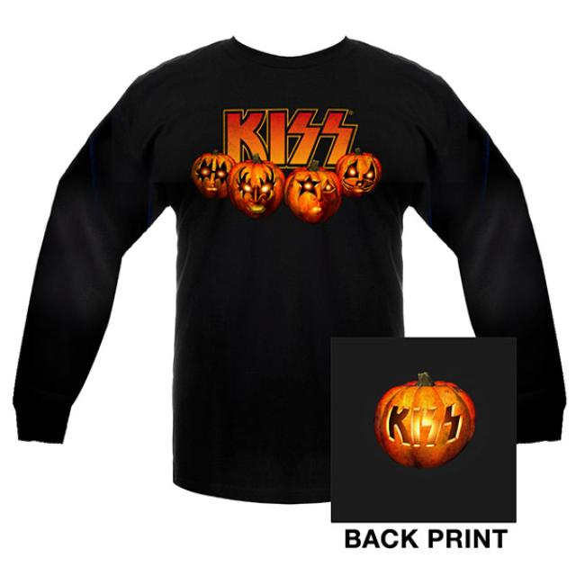 KISS Halloween Long Sleeve Tee