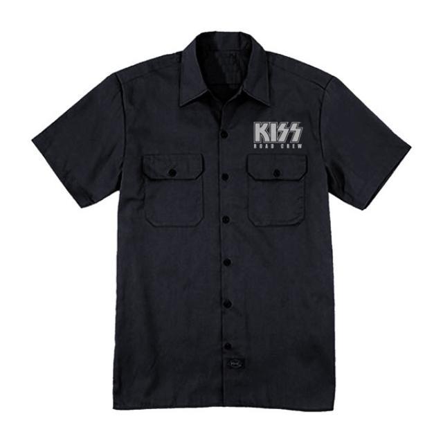 KISS Road Crew Dickies Work Shirt
