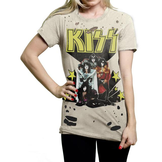 "KISS ""Nothin' To Lose"" Ladies Crew Shirt"