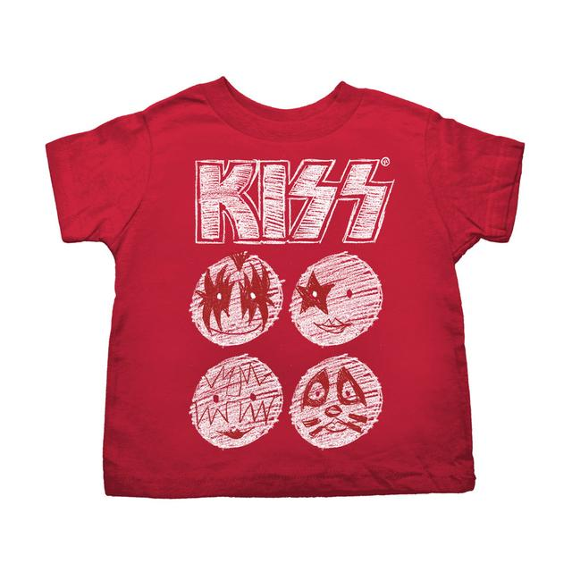 KISS Sketch Toddler Tee