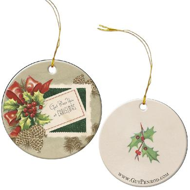 Guy Penrod Christmas Ornament