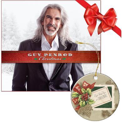 Guy Penrod Christmas CD PLUS Ornament Bundle