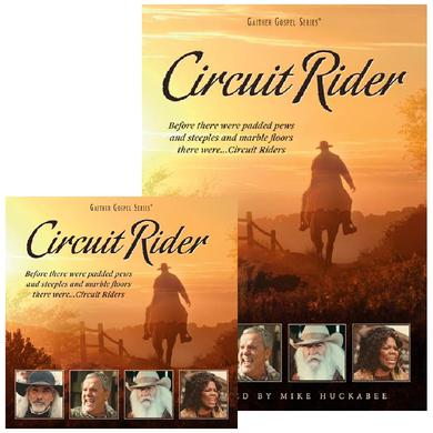 Guy Penrod Circuit Rider DVD FREE CD Bundle