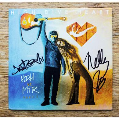 High Dive Heart vs. MRT AUTOGRAPHED EP (Vinyl)