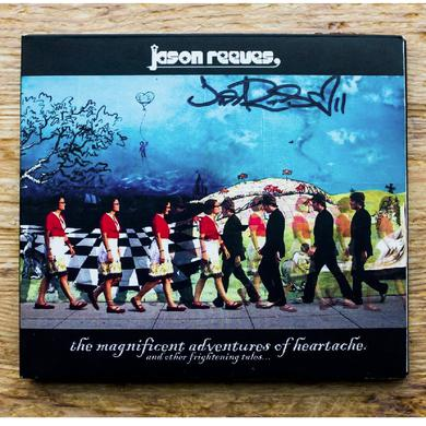 High Dive Heart The Magnificent Adventures AUTOGRAPHED CD by Jason Reeves