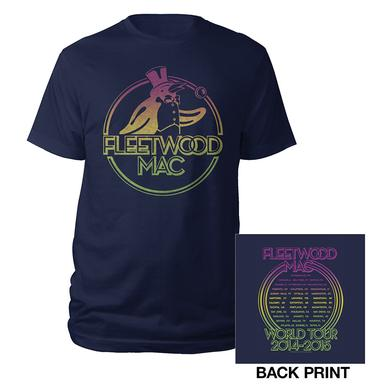 Fleetwood Mac On With The Show Tour Penguin Tee