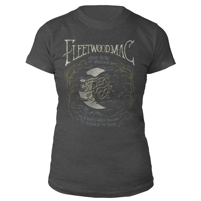 Fleetwood Mac Sisters Of The Moon Lyric Tee