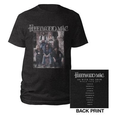 Fleetwood Mac 2015 Vintage Photo/Itin Black T-shirt