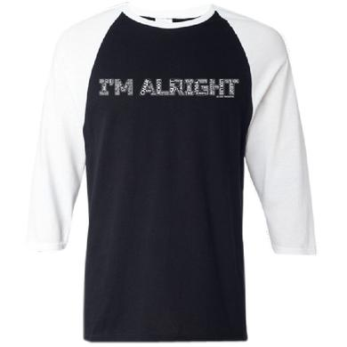 Jo Dee Messina Black and White Baseball Tee