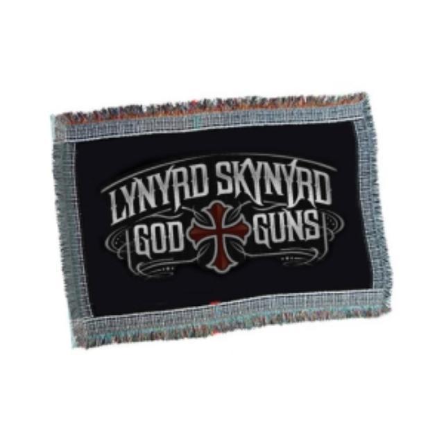 Lynyrd Skynyrd God & Guns Throw Blanket