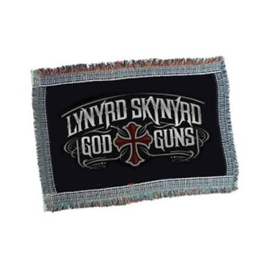 Lynyrd Skynyrd God & Guns Throw Blanket