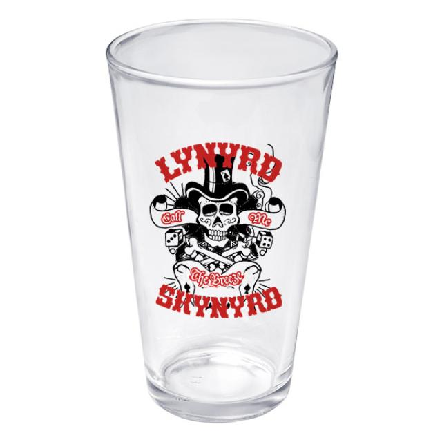 Lynyrd Skynyrd God & Guns Pint Glass