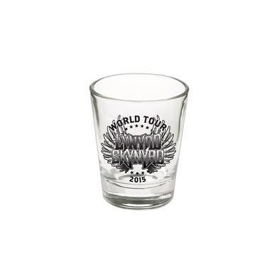 Lynyrd Skynyrd World Tour Shotglass