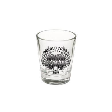 Lynyrd Skynyrd World Tour Shotglass