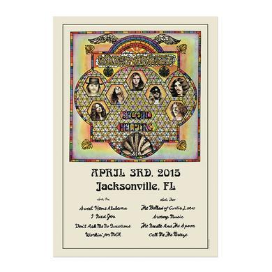 Lynyrd Skynyrd 2015 Event Poster