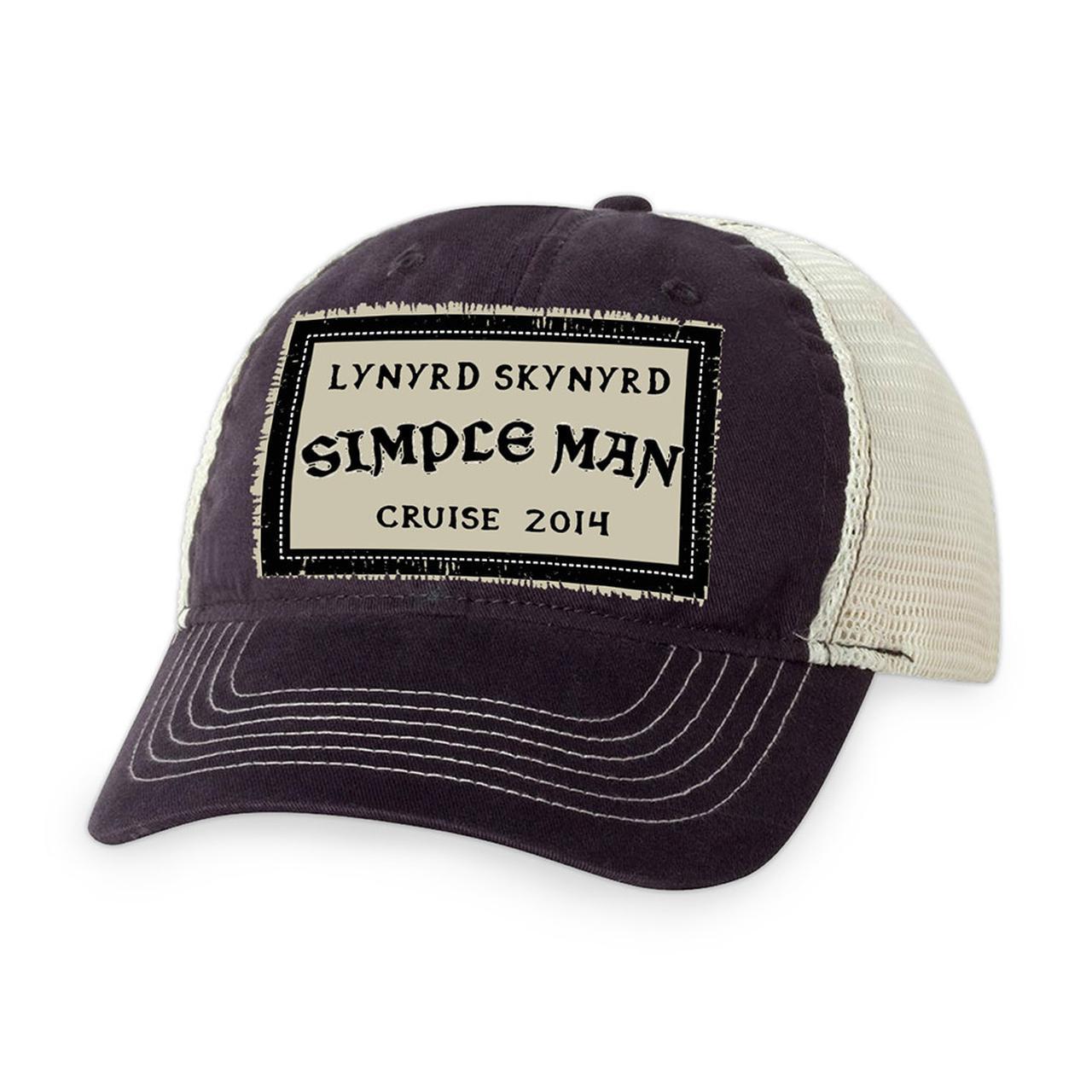 Lynyrd Skynyrd. 2014 Cruise Trucker Hat 34c42fe27e6